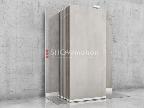 Präsentationmöbel Fliesen - Modell Libero - Showmotion