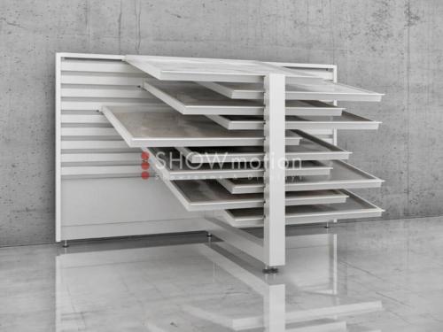 Plano - Espositore per pavimenti in ceramica - Showmotion