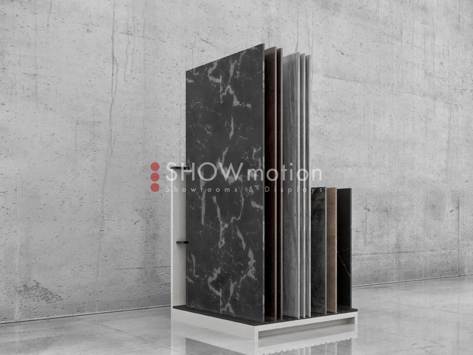 Präsentationmöbel Fliesen - Modell Play 4 - Showmotion