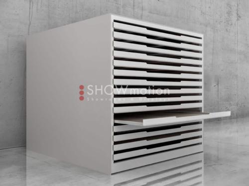 Präsentationmöbel Fliesen - Modell Solida - Showmotion