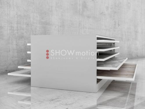 Doppelseitiger Schrank - 5 Schubladen – Stabila Duo - Showmotion