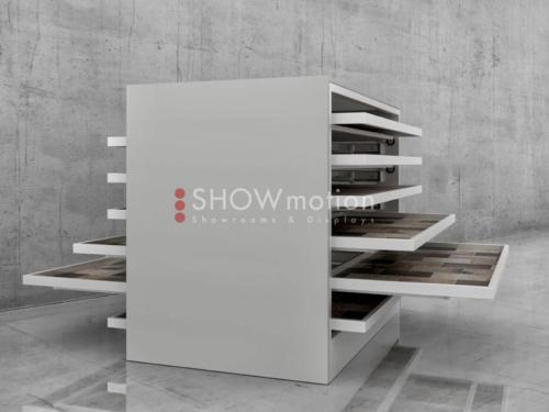 Doppelseitiger Schrank – Stabila Duo - Showmotion