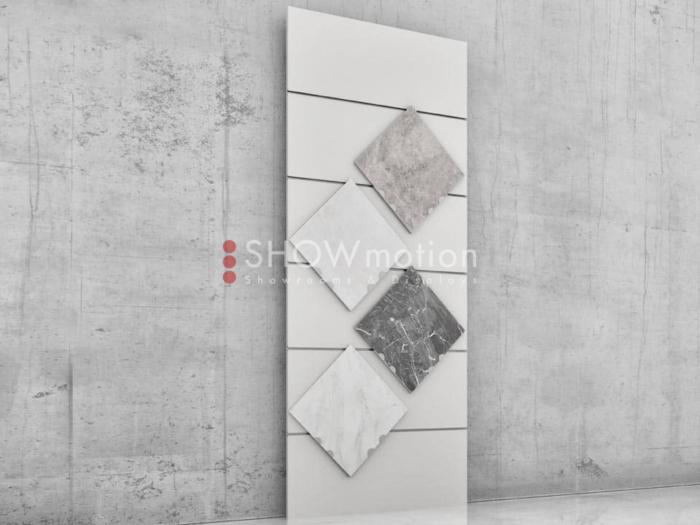 Präsentationmöbel Fliesen - Modell TS Grado 12 - Showmotion