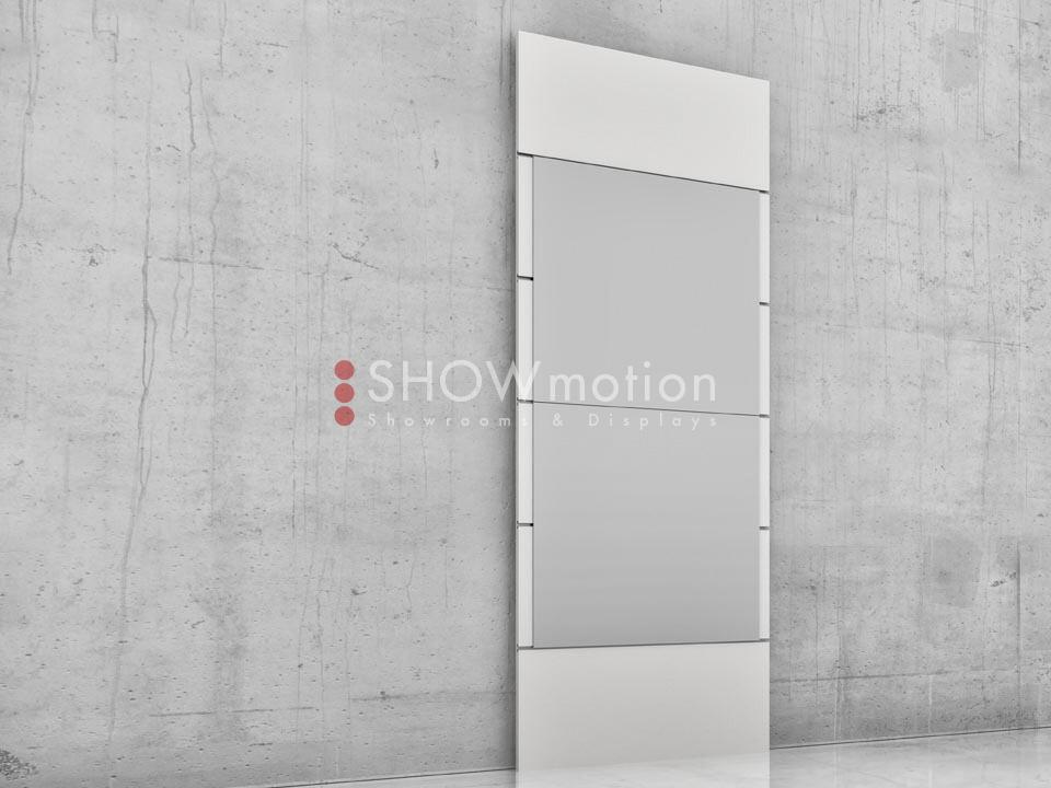 Präsentationmöbel Fliesen - Modell TS Onda - Showmotion