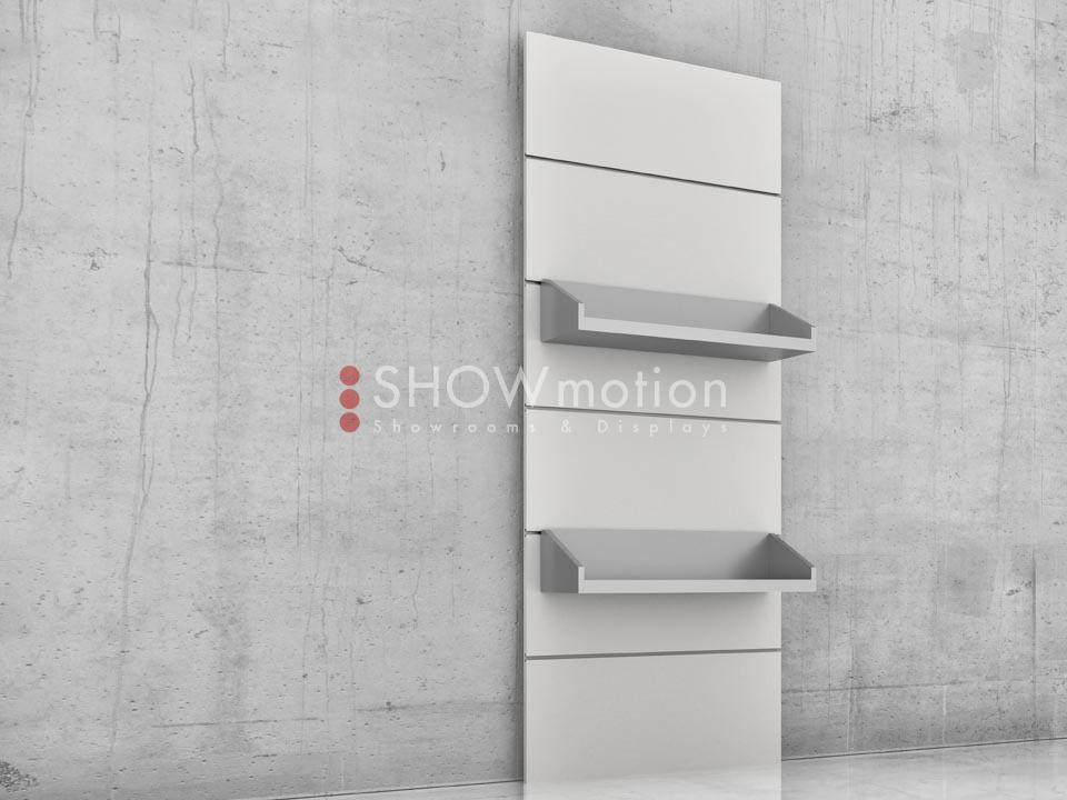 Präsentationmöbel Fliesen - Modell TS Mensola - Showmotion