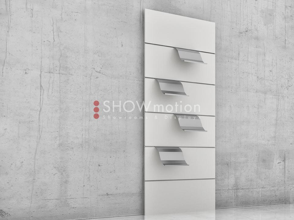Präsentationmöbel Fliesen - Modell TS Incline 06 - Showmotion