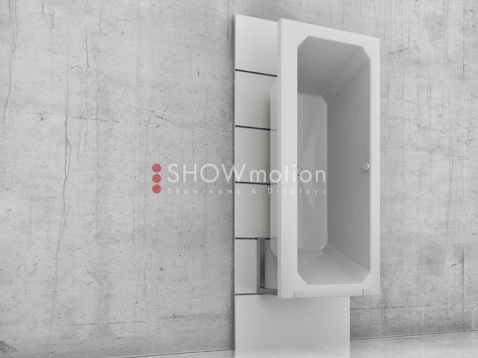 Präsentationmöbel Fliesen - Modell TS Sink - Showmotion