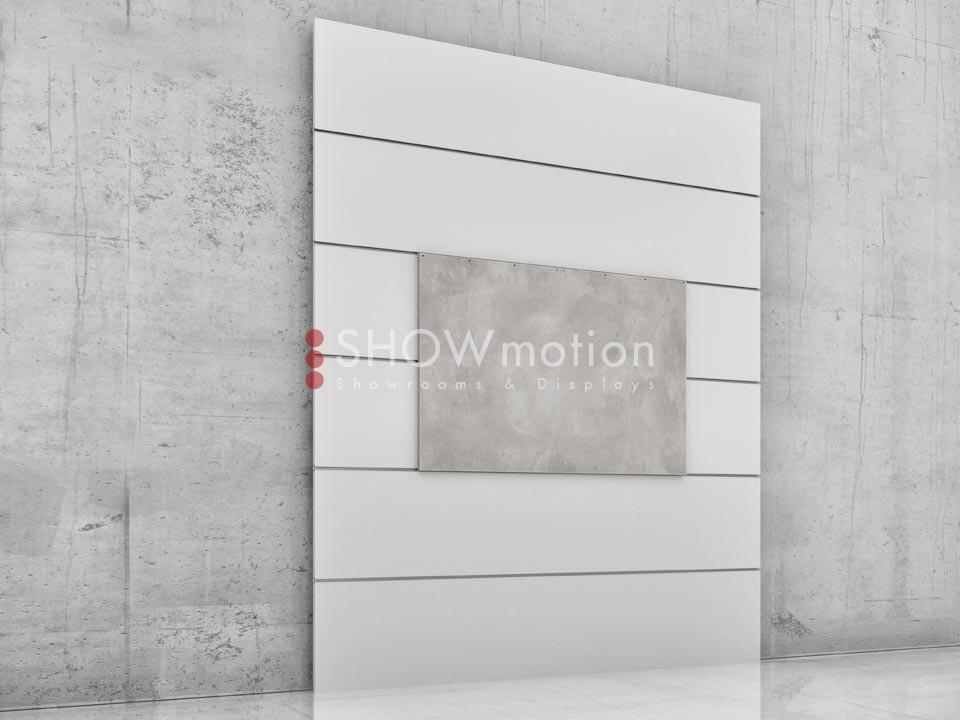 Präsentationmöbel Fliesen - Modell TS Barra 02 - Showmotion