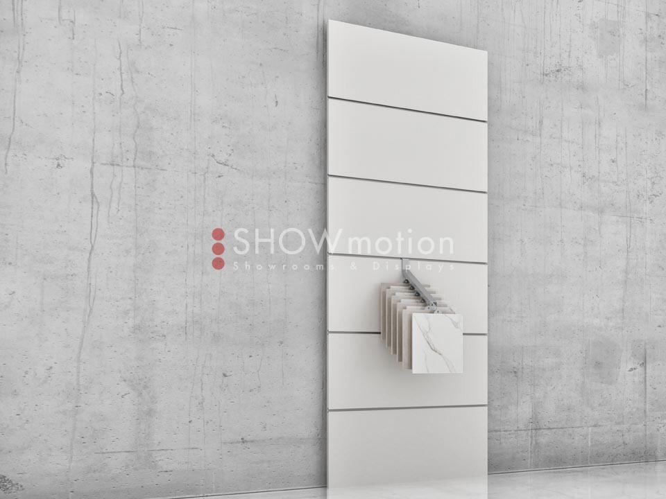 Präsentationmöbel Fliesen - Modell TS Gancio - Showmotion