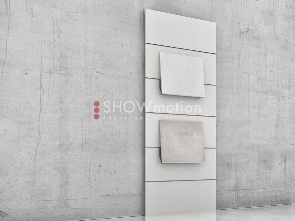 Präsentationmöbel Fliesen - Modell TS Incline 03 - Showmotion
