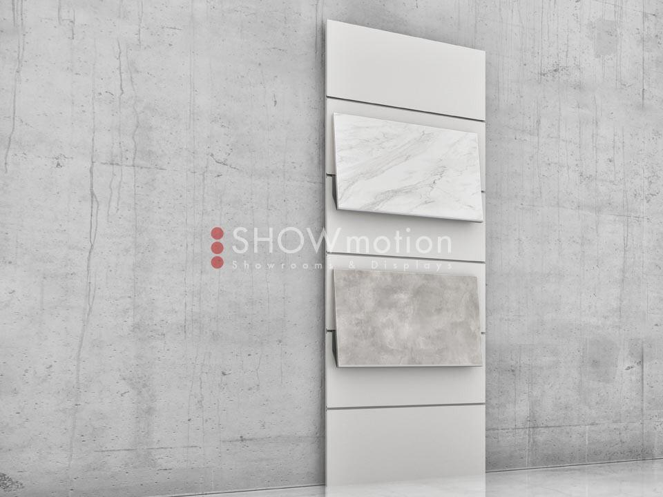 Präsentationmöbel Fliesen - Modell TS Incline 05 - Showmotion