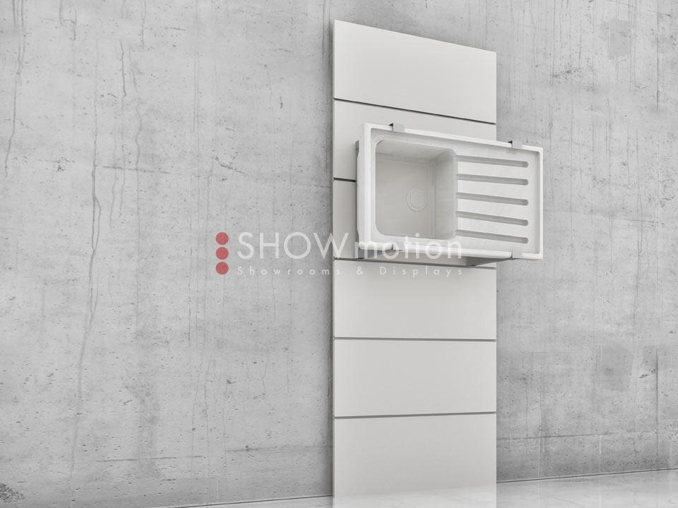 Präsentationmöbel Fliesen - Modell TS Lavabo - Showmotion