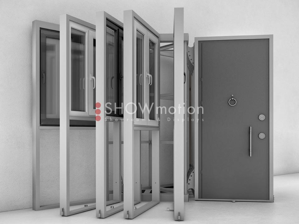 ShowMotion_IMAGE 10 Linear_Ausstellungsmodul für Bauelemente