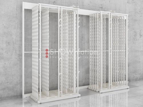 Musterständer für Fliesenaustellung - Ausstellungssystem für einzelne Fliesen - Showmotion