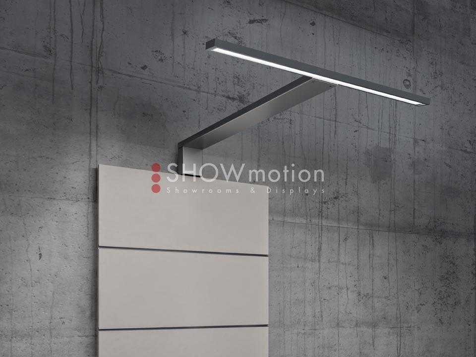 Präsentationmöbel Fliesen - Modell TS Listelli - Showmotion