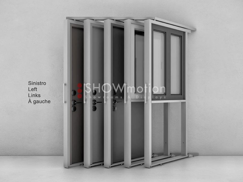 Ausstellungssystem X-Diagonal | ShowMotion