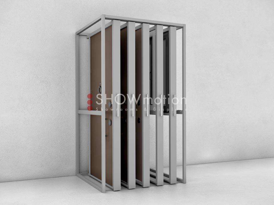 ShowMotion_Z5_selbsttragendes Ausstellungssystem fuer Tueren und Fenster