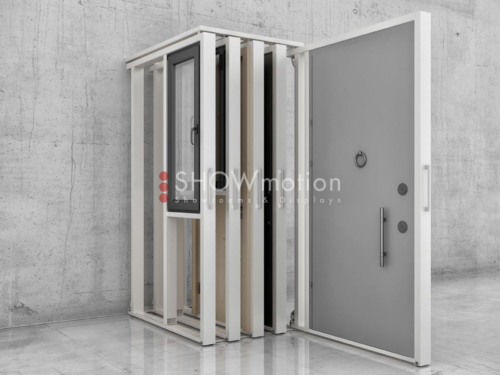 Ausstellungssystem Fenster & Türen - Model X Regó