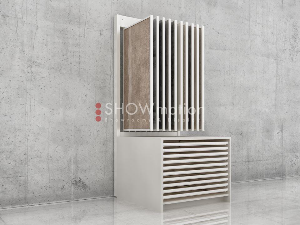 Präsentationmöbel Fliesen - Modell Play 6 - Showmotion