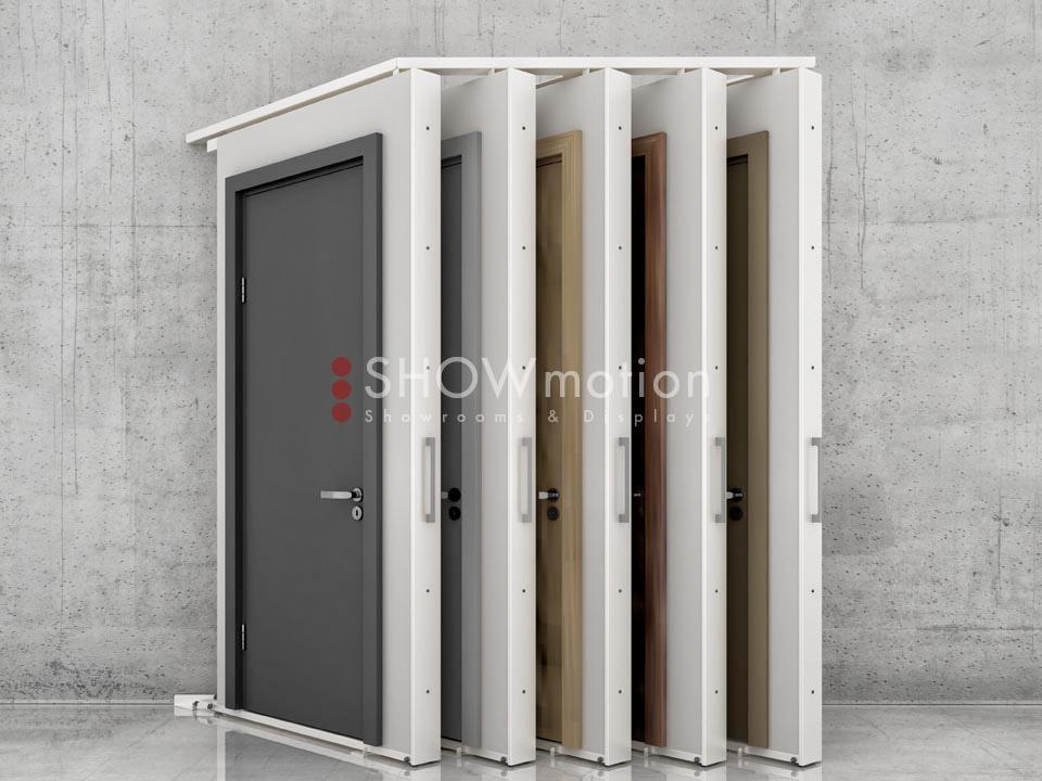 Ausstellungssystem X-Muro Diagonal | ShowMotion