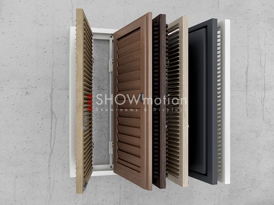Ausstellungssystem Shutter Book | ShowMotion