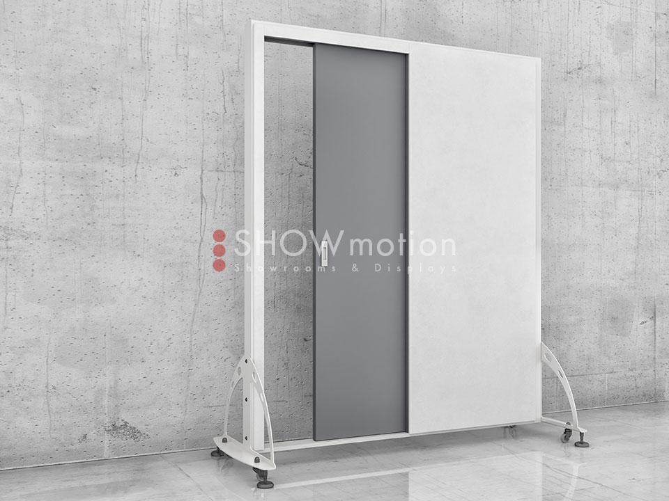 Ausstellungssystem Single Sliding | ShowMotion