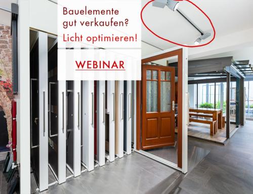 WEBINAR: Kunden gewinnen durch Ausstellungsoptimierung – Tipps für die Beleuchtung – Dauer 1 Std