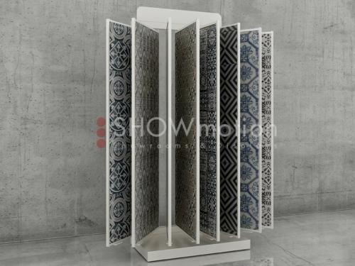 Präsentationmöbel Fliesen - Minibox Terra - Showmotion