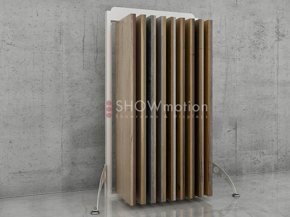 Musterständer Holzböden - Modell Free Wood - Showmotion
