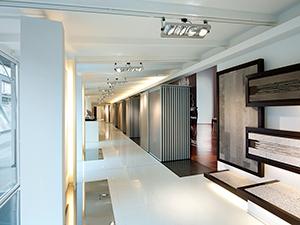 Ausstellungsraum gestalten & Showroom Einrichtung - Ausstellungssysteme für Marmor, Naturstein, Outdoor-Fliesen   ShowMotion
