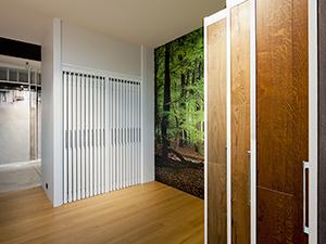 Ausstellungsraum gestalten & Showroom Einrichtung - Ausstellungssysteme für Parkett & Holzböden   ShowMotion